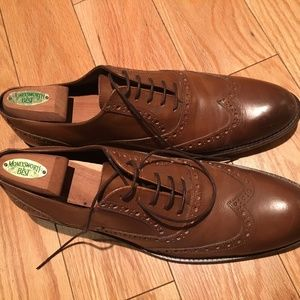 BRUNO MAGLI Alvar Leather Wingtip Balmoral Sz 12
